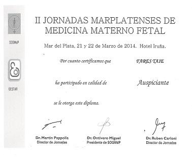 Jornadas Marplatenses de Medicina Materno Fetal