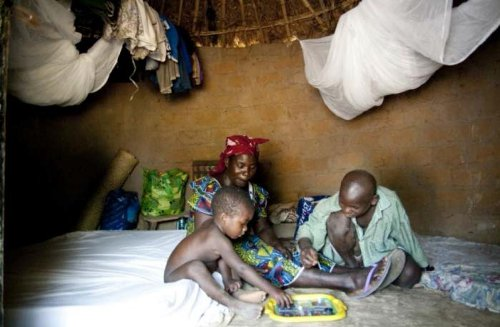 embarazada malaria