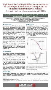 Poster HRM para mutación V617F