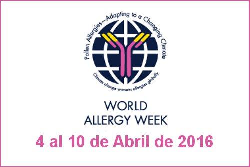 semana mundial alergia