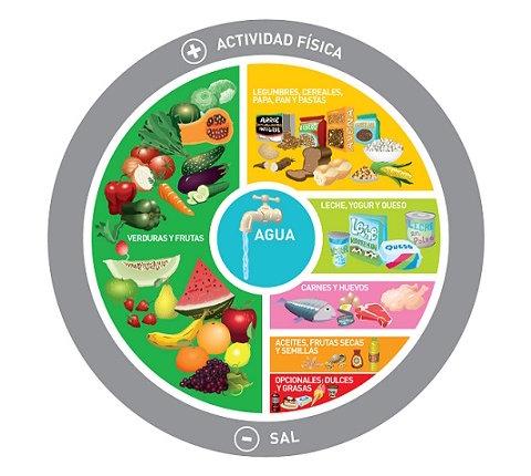 guia alimentaria GAPA