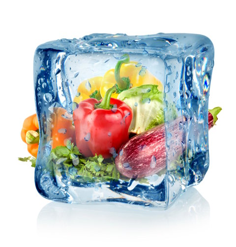 alimento congelado