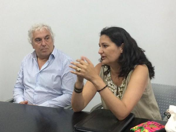 Dr. Hernán Fares Taie y Dra. Silvina Quintana